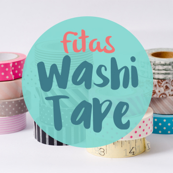 Fitas Adesivas Washi Tape