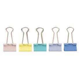 Binder Clips Cis Tons Pastel - 19mm - 24 Unidades