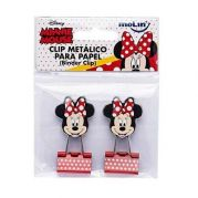 Binder Clips Minnie Mouse Molin 25mm 2 unidades