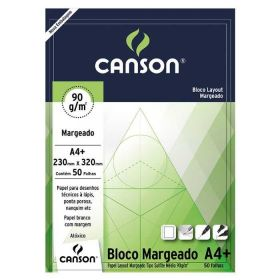 Bloco Canson Layout - 90g A4 (Margeado)