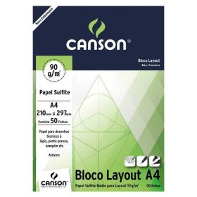 Bloco Canson Layout - 90g A4