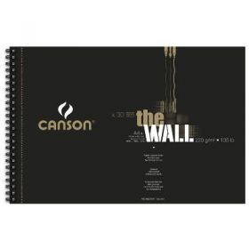 Bloco Canson The Wall A4+ 220g 30 Folhas