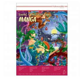 Bloco Hahnemühle Fineart - Layout & Illustration Paper Manga - 80g A3 40 Folhas
