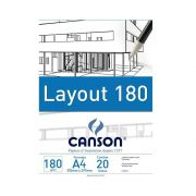Bloco Canson Layout - 180g A4