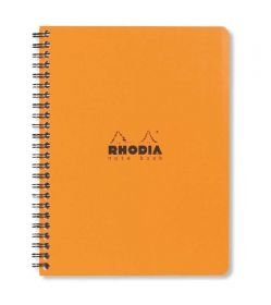 Caderno Note Book Quadriculado Rhodia Orange A5+