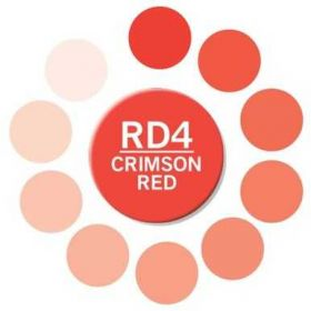 Caneta Chameleon - Crimson Red D4