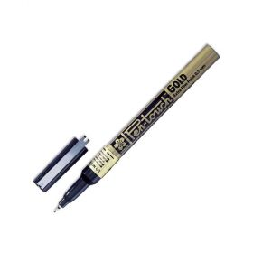 Caneta Sakura Pen Touch 1.0 mm - Dourada - 41301