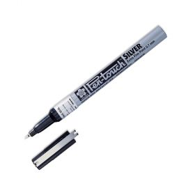 Caneta Sakura Pen Touch 1.0 mm - Prata - 41302