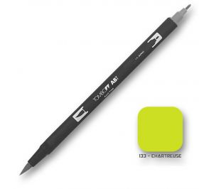 Caneta Tombow Dual Brush 133 - Chartreuse