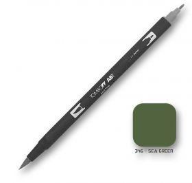 Caneta Tombow Dual Brush 346 - Sea Green