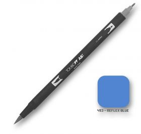 Caneta Tombow Dual Brush 493 - Reflex Blue