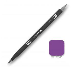 Caneta Tombow Dual Brush 606 - Violet