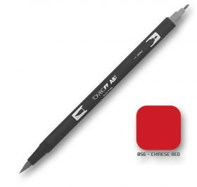 Caneta Tombow Dual Brush 856 - Chinese Red