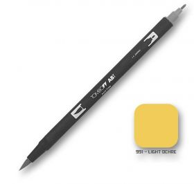 Caneta Tombow Dual Brush 991 - Light Ochre