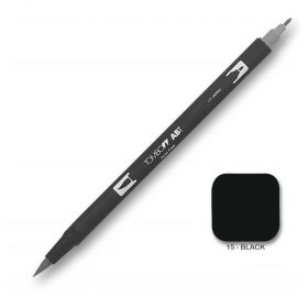 Caneta Tombow Dual Brush N15 - Black