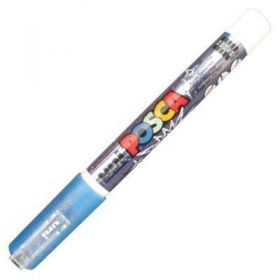 Caneta Uni-Ball Posca PC-3ML - Azul