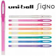Caneta Uni-Ball Signo Angelic Colour 5 cores
