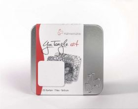 Cartão Postal Hahnemühle You Tangle Art - 310g/m² 9 x 9 cm