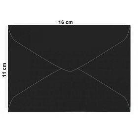 Envelope M Los Angeles (Preto)