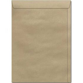 Envelope Saco -  Kraft Natural - 80 gramas 370x470mm - 100 UN