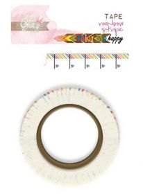 Fita Adesiva Washi Tape - Rainbow Stripe WT0366