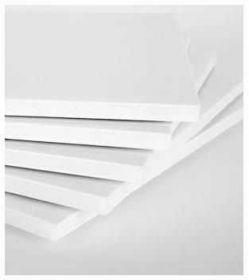 Foam Board (Branco x Branco) 5mm - 32 x 47 cm