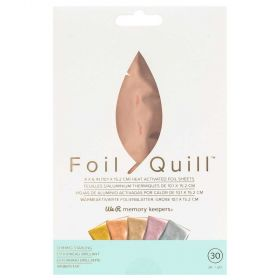 Foil Quill em Folha 10x15cm Rose Gold We R Memory Keepers - 30 Unidades