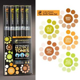 Kit Caneta Chameleon - Earth Tones
