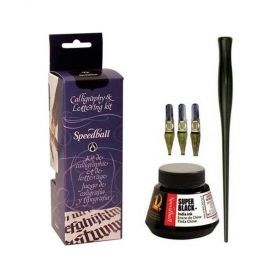 Kit de Penas e Tinta para Caligrafia Speedball - 3059