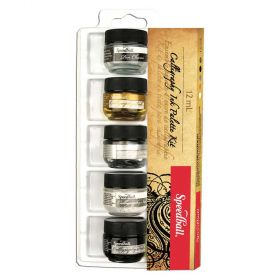 Kit de Tinta para Caligrafia SpeedBall 05 unidades