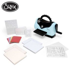 Kit Sizzix Texture Boutique - Embossing Machine - Beginners Kit - 656280