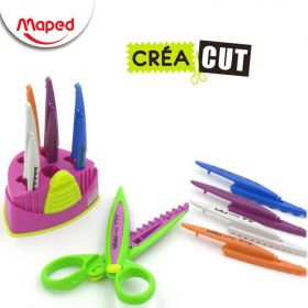 Kit Tesoura Maped CréaCut