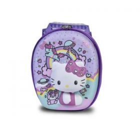 Lancheira Escolar Maxtoy Hello Kitty Rainbow - 3D