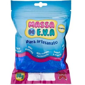Massa de E.V.A. Foamy 50g Azul Escuro - Make+
