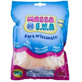 Massa de E.V.A. Foamy 50g Bege - Make+