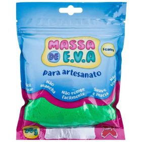 Massa de E.V.A. Foamy 50g Verde Escuro - Make+