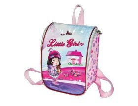 Mini Mochila (Lancheira) - Kit - Little Girl