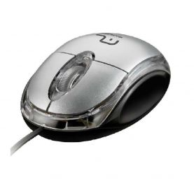 Mouse Óptico USB c/ Scroll Classic Multilaser 800 DPI - MO180