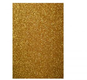 Papel Glitter Ouro A4 180G 5 Folhas Papelero