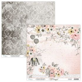 Papel Scrap Mintay By Karola - Marry Me! MT-MRM-01 - Unidade