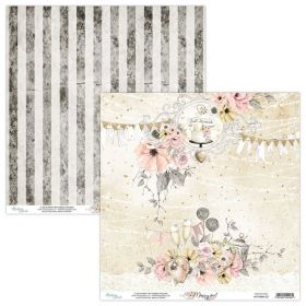 Papel Scrap Mintay By Karola - Marry Me! MT-MRM-03 - Unidade
