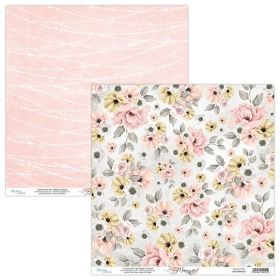 Papel Scrap Mintay By Karola - Marry Me! MT-MRM-04 - Unidade