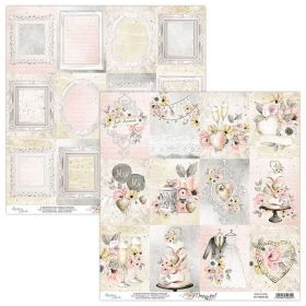 Papel Scrap Mintay By Karola - Marry Me! MT-MRM-06 - Unidade