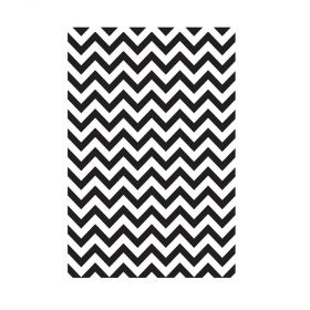 Placa de Textura Kaiser Craft - Embossing Folder Chevron - EF210