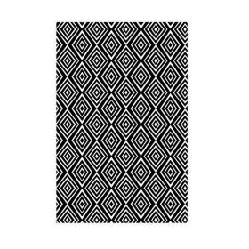 Placa de Textura Kaiser Craft - Embossing Folder - Diamantes - EF201