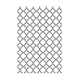 Placa de Textura Kaiser Craft - Embossing Folder - Gelosia - EF202