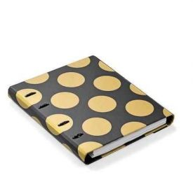 Planner c/ Agenda Semanal - Ótima Gold & Kraft + 1 Roll Notes 4412-1