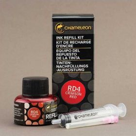 Refil de Tinta Chameleon 25ML - Crimson Red RD4