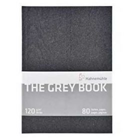 The Grey Book Sketchbook Hahnemühle 120g/m² A4 - 40 Folhas