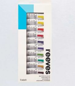 Tinta Aquarela Reeves A12- Water Colour 10ml 12 cores